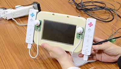 Prototype Nintendo Wii U avec écran